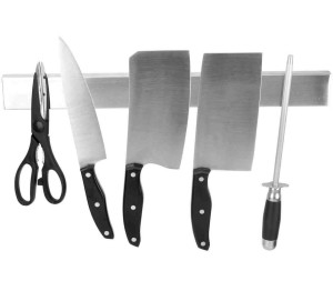 #6 U2013 Ouddy 15 Inch Magnetic Knife Holder, Stainless Steel Magnetic Knife  Bar, Magnetic Knife Strip, Knife Rack Strip
