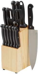 amazon basic Knife Block Sets