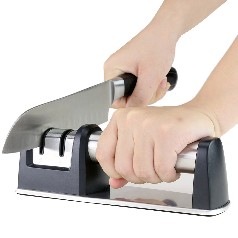 How To Use A Smith S Kitchen Knife Sharpener